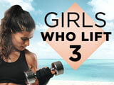 Strandfigur 2020: Girls Who Lift (III)