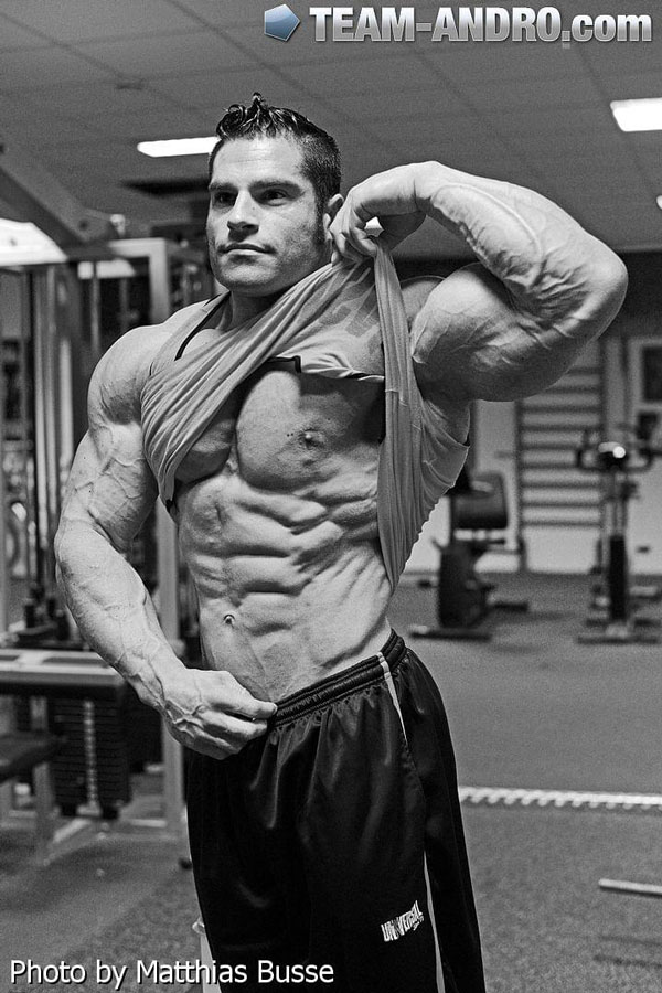 David Hoffmann 6 days out of Arnold Classic Amateur 2013