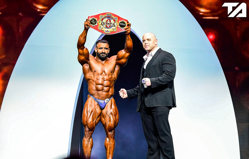 Hadi Choopan Peoples Champ Award Mr. Olympia 2019