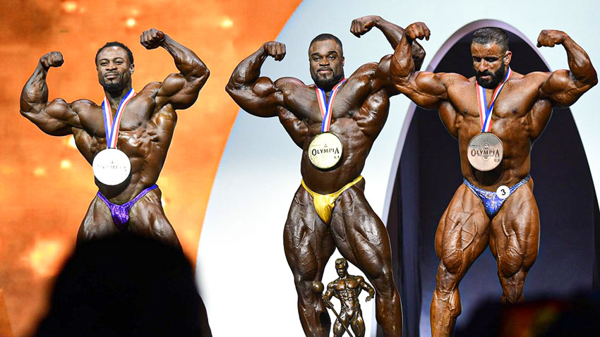 Curry Bonac Choopan Mr. Olympia 2019