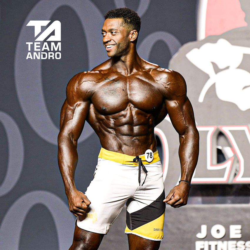 Raymont Edmonds Men's Physique Mr. Olympia 2019
