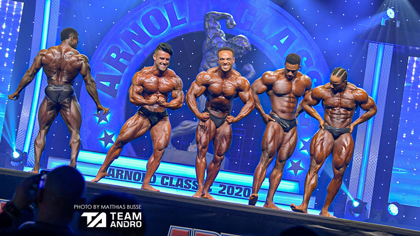 Posedown Arnold Classic Physique 2020