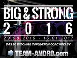 Big and Strong 2016: Anmeldung ab sofort!