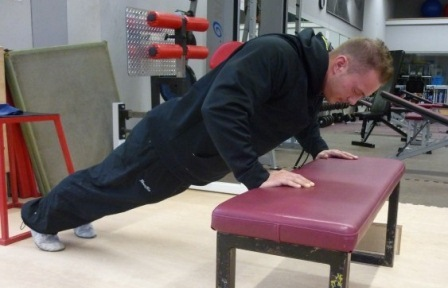 David Wallis Chest-Warm-up-Programm