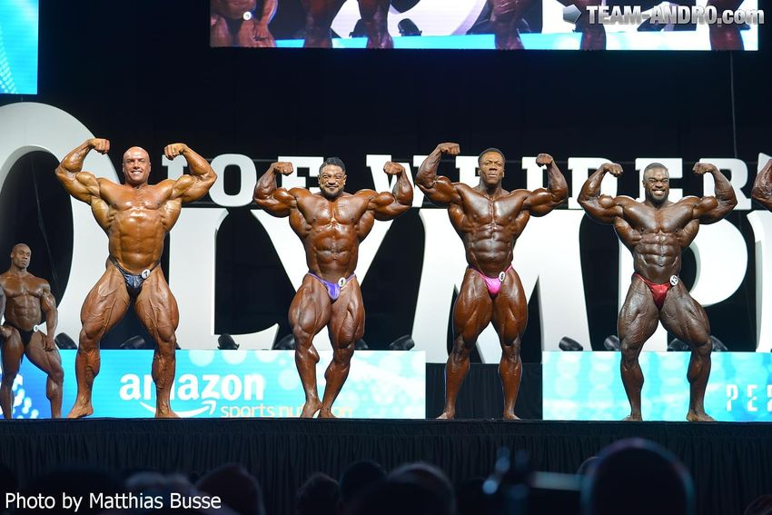 Mr. Olympia: 2nd Callout (1)