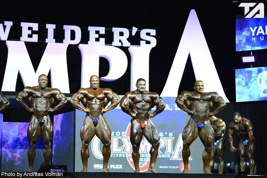 Mr. Olympia: 1st Callout (2)