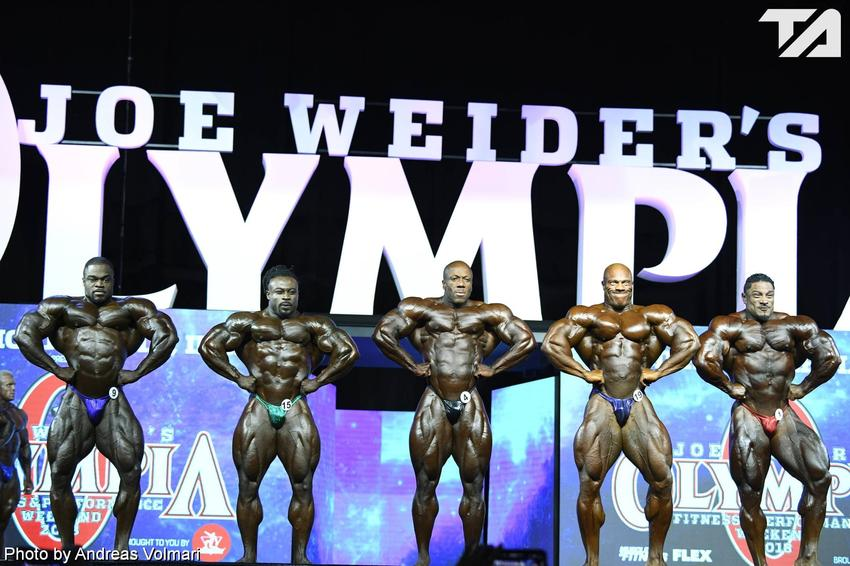 Mr. Olympia: 1st Callout (1)
