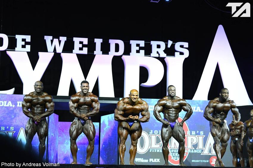 Mr. Olympia: 2nd Callout