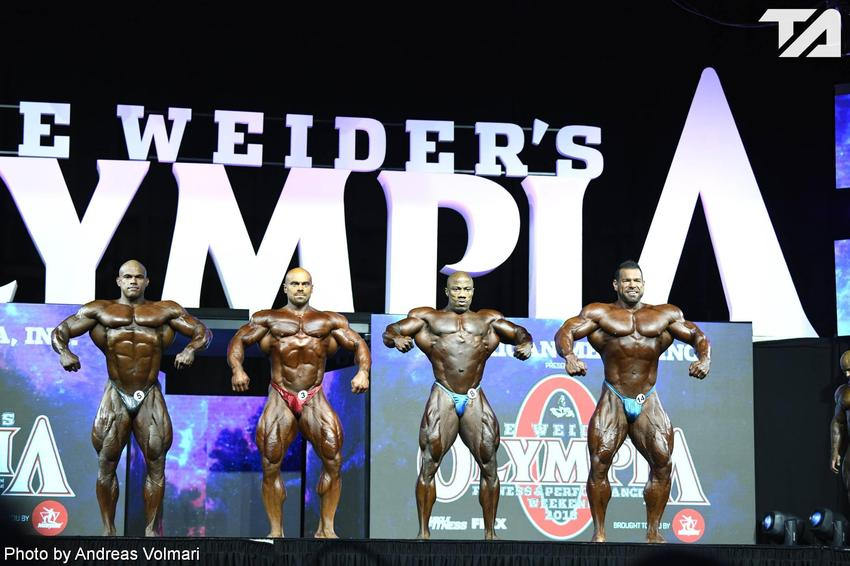 Mr. Olympia: 3rd Callout