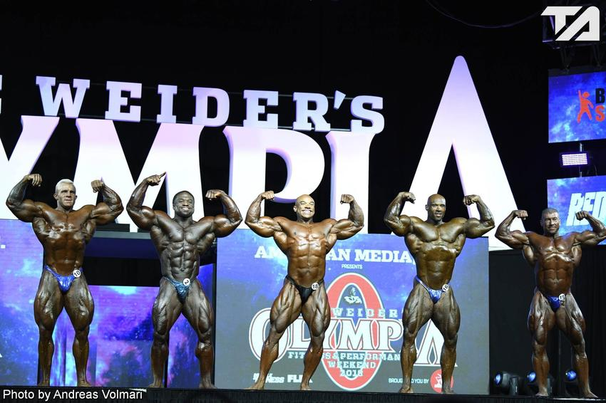 Mr. Olympia: 4th Callout