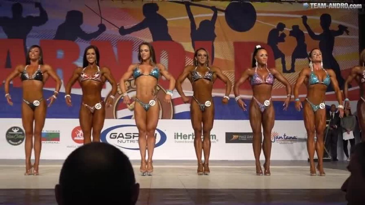 Bodyfitness up to 159cm (Figure B) - Arnold Amateur Final 2017 | AndroTube