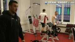 Preview: Training und Interview Dennis Arnold 18.12.2012
