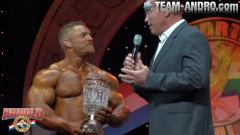 212 Top 2 Awards - Flex Leweis & Arnold Schwarzenegger AC 2014