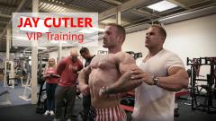 Jay Cutler - VIP Training im Eddi's Fitness