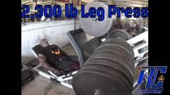 Ronnie Coleman - 2,300 lb leg press