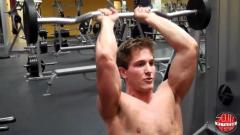 Seated Overhead Tricep Extension (French Press)