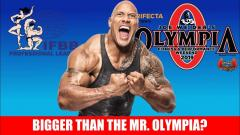 The Rock will Take Over the IFBB in 2020