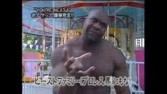 Bob Sapp goes to the Zoo
